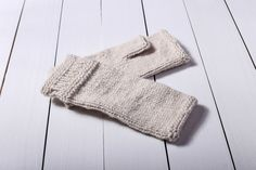 Fingerless mittens White gloves Fingerless gloves Beige