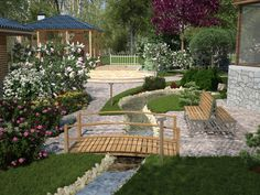 The backyard garden Cam N1 by i-t-h-i-l.deviantart.com on @deviantART