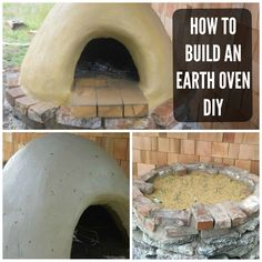 DIY Earth Oven Or Cobb Oven Tutorial Handy & Homemade  http://www.handyandhomemade.com/2015/04/diy-earth-oven-or-cobb-oven-tutorial.html  ...Be sure to follow me at pinterest.com/ninabruhns/cool-home-garden-stuff-nina/ for more terrific ideas for your home and garden!!!  Or if you're into living sustainably, please check out this board: https://www.pinterest.com/ninabruhns/living-sustainably-permaculture-homesteading-ideas/