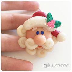 Hoh hoh hooo... Santa polymer clay