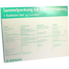 KATHETER Set mit Instillagel:   Packungsinhalt: 1 P PZN: 03915272 Hersteller: B. Braun Melsungen AG Preis: 9,10 EUR inkl. 19 % MwSt.…