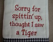 Roll Tide, Baby - Alabama Burp Cloth