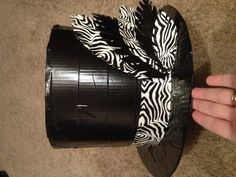 DIY duct tape hat