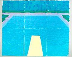 David Hockney Paper Pools