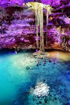 Cenote Samula, Dzitnup, Yucatan, Mexico