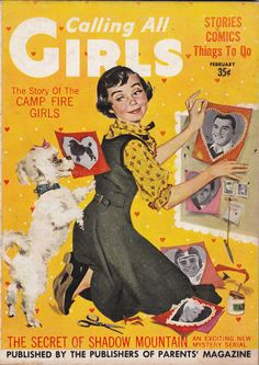 Calling All Girls, February 1957