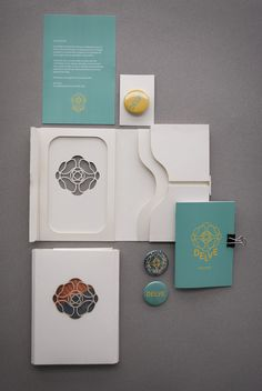 Beautiful Package Design - Delve