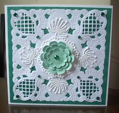 Card using Marianne Dies by: craftymarg