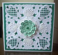 Card using Marianne Dies by: craftymarg