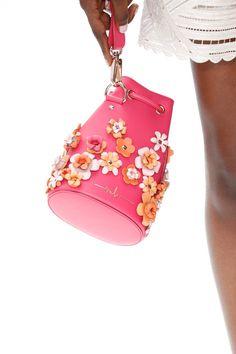 e6d8cd7438be  Tasche  Flowers  Blumen  MarinaHoermanseder  Bag  pink Taschen, Blumen,
