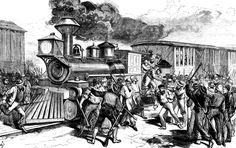 The Great Strike of 1877: Violent Clashes In American Cities: The Great Railroad Strike of 1877 began with clashes at Martinsburg, West Virginia.