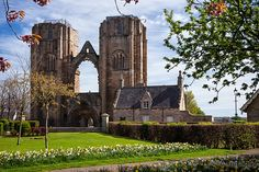 The Elgin Cathedral in Elgin, Moray, Scotland. ❤༻ಌOphelia Ryan ಌ༺❤