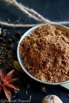 ... and spices on Pinterest | Garam Masala, Spice Blends and Masala Recipe