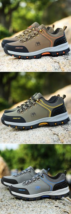 US$36.5 (3 color)Find more Outdoor Hiking Climbing Shoes at newchic#outdoor #hiking #climbing #sports #father