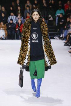 Zwierzęce printy (Balenciaga jesień zima 2018/19)