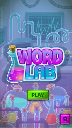 Word Lab by Mar Rodriguez, via Behance