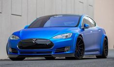 GMP's Matte Blue Tesla Model S might look all cute and cuddly, but underneath those soft looks it packs the range-topping powertrain which makes it . Tesla Motors, Car Goals, Modified Cars, Car Brands, Future Car, Electric Cars, Lamborghini Aventador, Car Ins, Luxury Cars