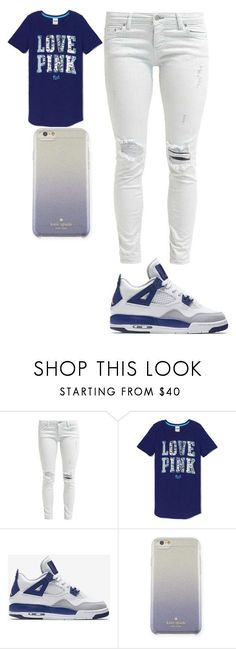 """Awesome Outfits With Jordans """"How To Wear Jordans"""" by damo12 on Polyvore featuring Victoria's S... Check more at http://24shopping.ga/fashion/outfits-with-jordans-how-to-wear-jordans-by-damo12-on-polyvore-featuring-victorias-s/"""