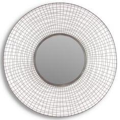 "Murray Metal Mirror 39"" $235 at Foundary"