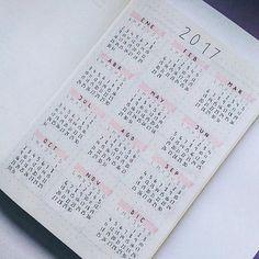 Nice calendar from @universityjournal 📆