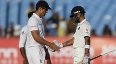 The 1st Test match between #IND and #ENG resulted in a draw at #Rajkot.  #INDvsENG #ScoreToSettle
