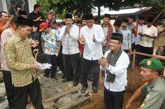 Pembangunan Kantor Wali Nagari Lubuk Basung Dimulai - sumbarsatu.com