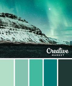 15 Downloadable Color Palettes For Winter ~ Creative Market Blog