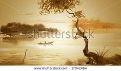 Fotos stock Paisagem Aquarelle, Fotografia stock de Paisagem Aquarelle, Paisagem Aquarelle Imagens stock : Shutterstock.com