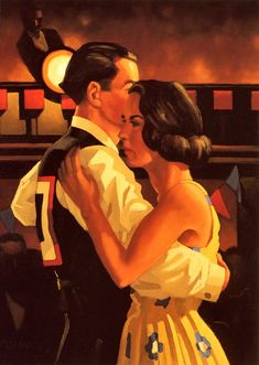 Dance Me to the End of Love - Jack Vettriano - WikiPaintings.org