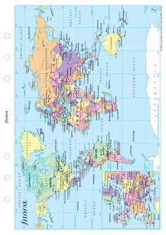 Printable World Map Free.Free Map Of The World Free Printable World Maps Outline World