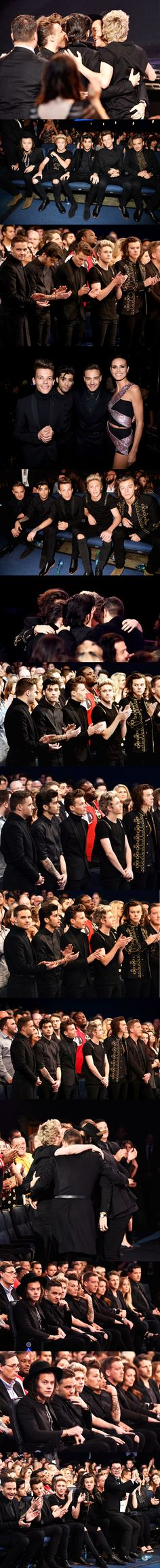 God bless you! Congratulations boys! You swept away the AMA's! The night was yours'. ❤