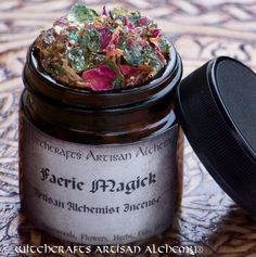 Witchcrafts Artisan Alchemy - FAERIE MAGICK Artisan Alchemist Ritual Incense,  (http://www.witchcraftsartisanalchemy.com/faerie-magick-artisan-alchemist-ritual-incense/)
