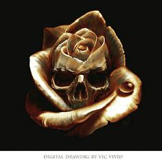 Skull...I have something similar to this tattooed on my lower back