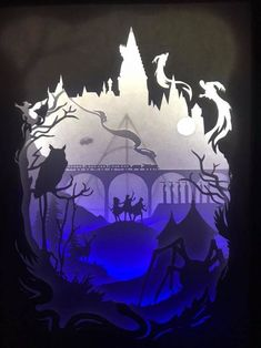 Light Box Harry Potter and the Deathly Hallows
