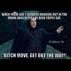 OR DISHWASHERS JST STANDING THERE!!