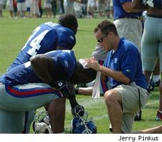 What It's Like to be an Athletic Trainer in the NFL: Q&A with Leigh Weiss