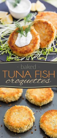 These Tuna Fish Croquettes are a delicious way to use leftover mashed potatoes and probably the best use of canned tuna, ever! Tuna Fish Recipes, Canned Tuna Recipes, Seafood Recipes, Cooking Recipes, Skillet Recipes, Pizza Recipes, Vegetarian Recipes, Dinner Recipes, Mashed Potato Patties