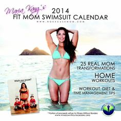 Katty Johnson | 'What's Your Excuse' Mom's 2014 Swimsuit Calendar, Featuring Fit Fans - Yahoo Shine EXCELLENT CALENDAR AND SUCH INSPIRATIONAL MOMS!