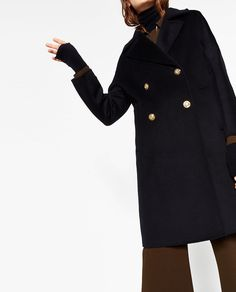 ZARA - WOMAN - DOUBLE BREASTED COAT