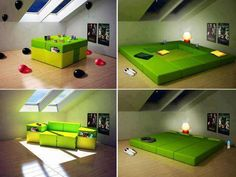 Multifunctional furniture (Bed/Sofa/Table/Gameplace for babies...)