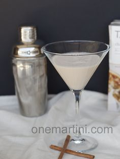 Salted Caramel Chai Cocktail - One Martini at a Time