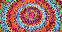 Die 119 Besten Bilder Von Mandalas Häkeln Crochet Mandala Crochet