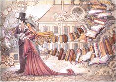 Steampunk Wedding Gift by drachenmagier.deviantart.com