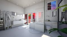 bathroom by sacikae. A design bathroom with products like the Quantum Shower Bath, right and St Ives Mirror, White Washing Machine, Home Appliances, Shower, Bathroom, Design, House Appliances, Rain Shower Heads, Washroom, Full Bath