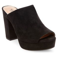 bb45f3ea3f Women's Sloan Block Heel Platform Mule Pumps - Mossimo Supply Co. Black 7.5  Platform Block