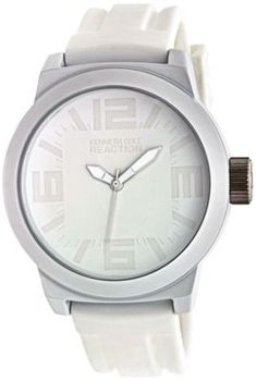Kenneth Cole Reaction Mens White Watch  in Spring Big Book Pt 1 from Fingerhut on shop.CatalogSpree.com, my personal digital mall.