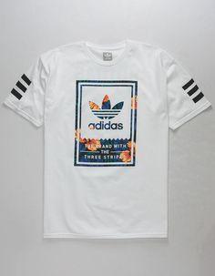 ADIDAS Classic Sweet Leaf Mens T-Shirt