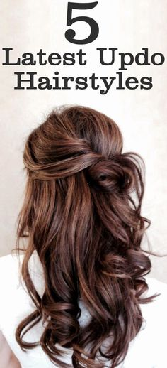 5 Latest Updo Hairstyles #UpDoHairStyles