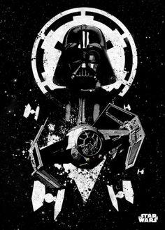 tie advanced darth vader empire star wars lucas