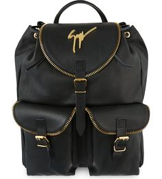 Lindos-vague leather backpack